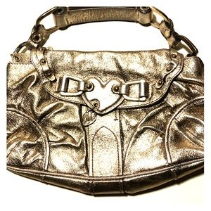 Small Gold Juicy Couture purse